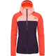 The North Face Stratos Jas Dames oranje/violet